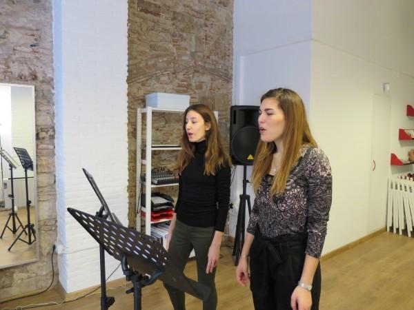 Taller canto moderno