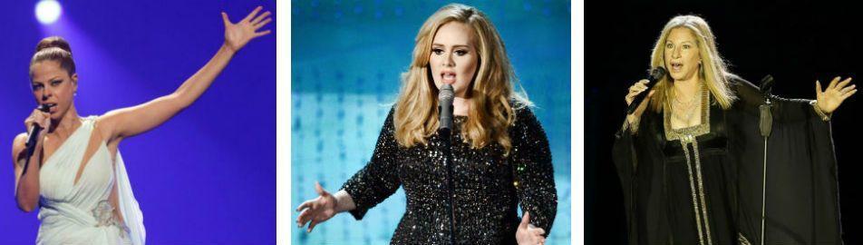 Adele, Pastora Soler y Barbra Streisand han sufrido ataques de pánico escénico