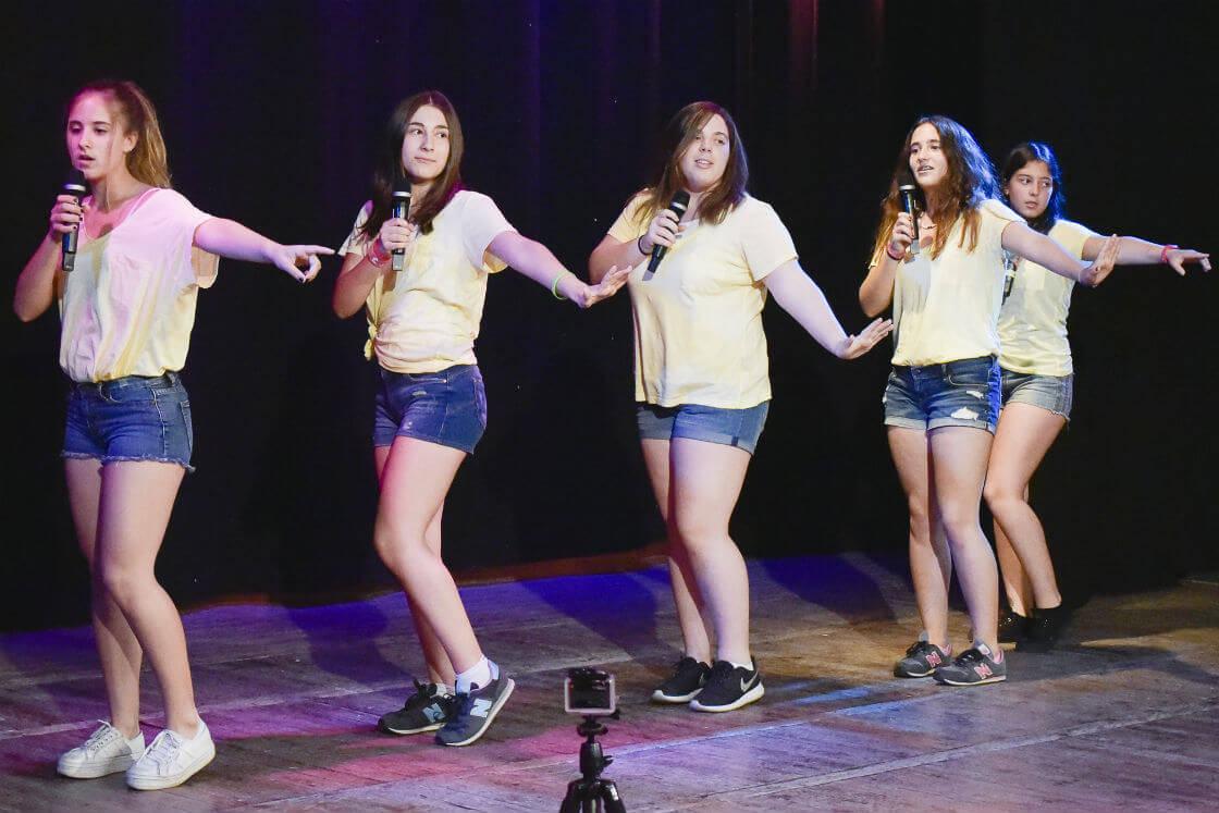 Clases de canto adolescentes