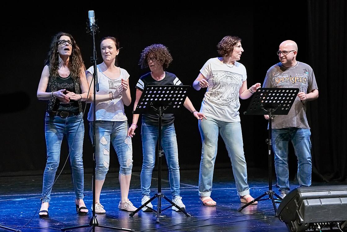 Clases de canto en grupo Barcelona