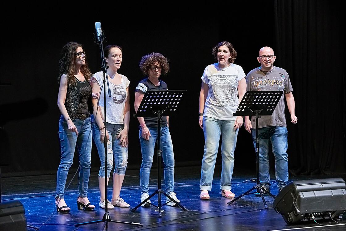 Clases de canto en grupo