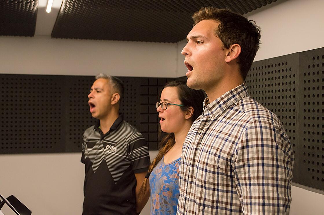 Clases de canto trío