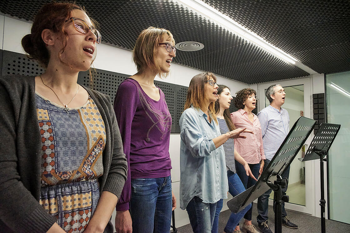 Grupos de canto temáticos