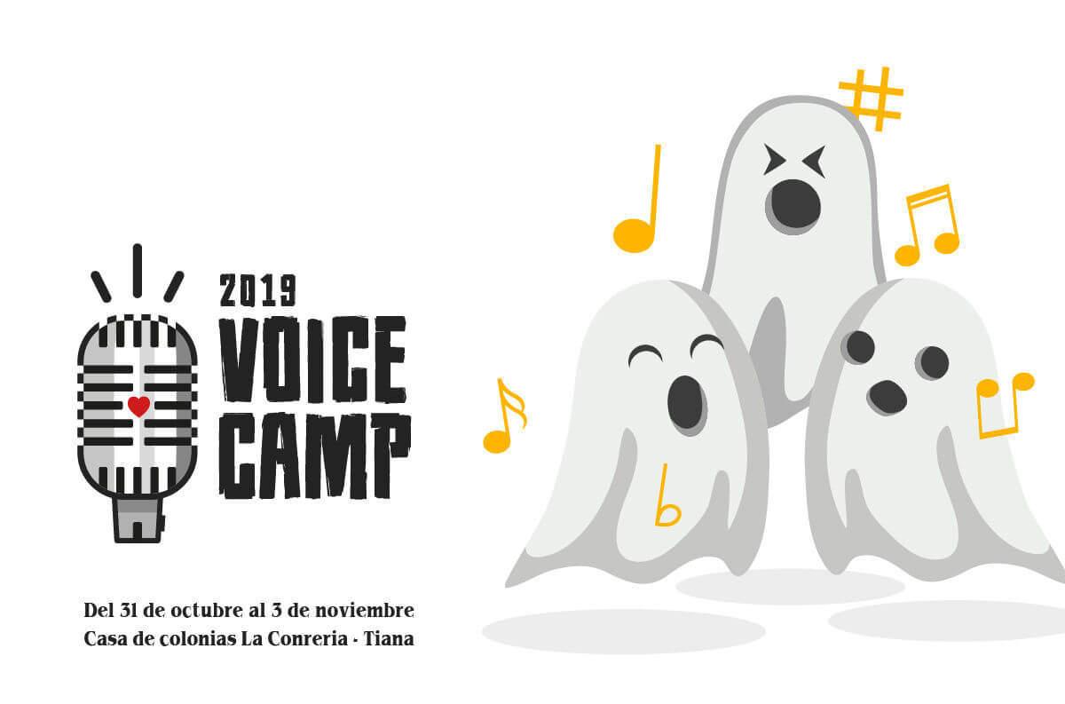 Fantasmas Halloween campamento canto VoiceCamp