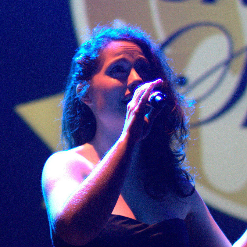 Singing teacher Lisbeth Ortega
